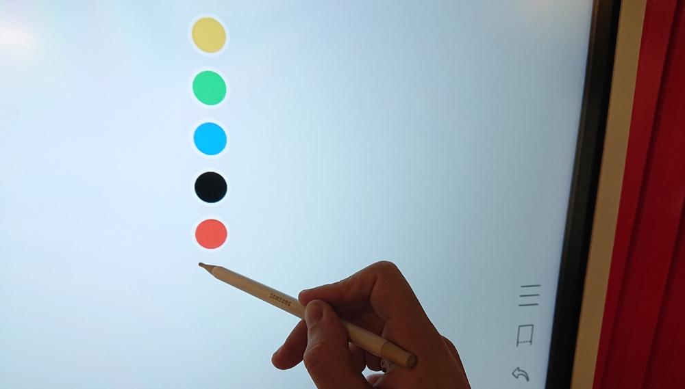 Samsung Flip Chart