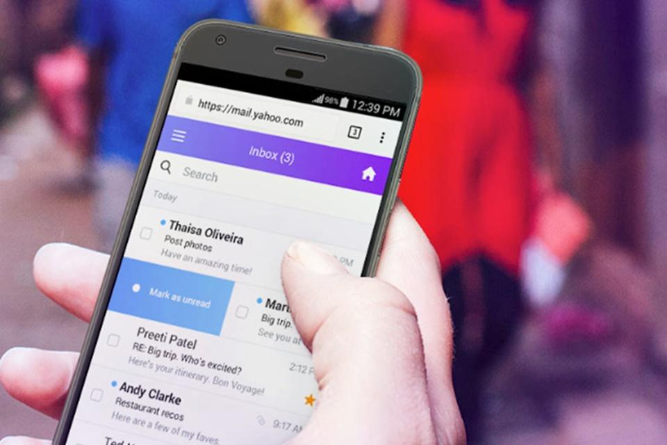 Imagem de Yahoo! Mail ganha versão reformulada para versão mobile direto do navegador no tecmundo
