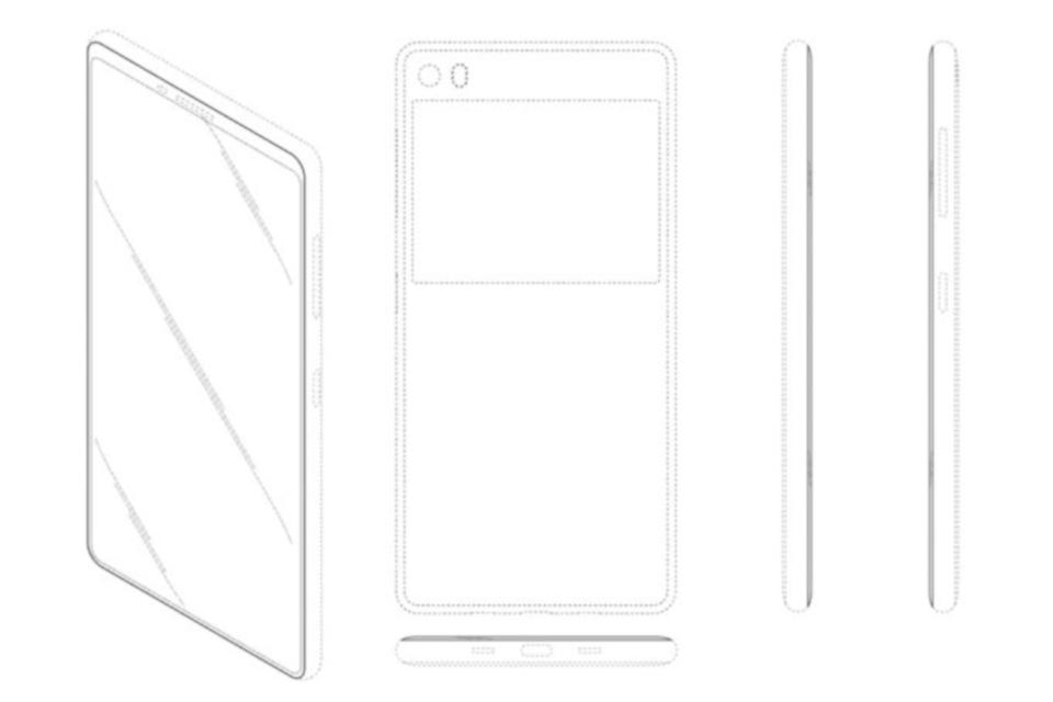 Imagem de Patente da Samsung pode indicar futuro visual da linha Galaxy no tecmundo