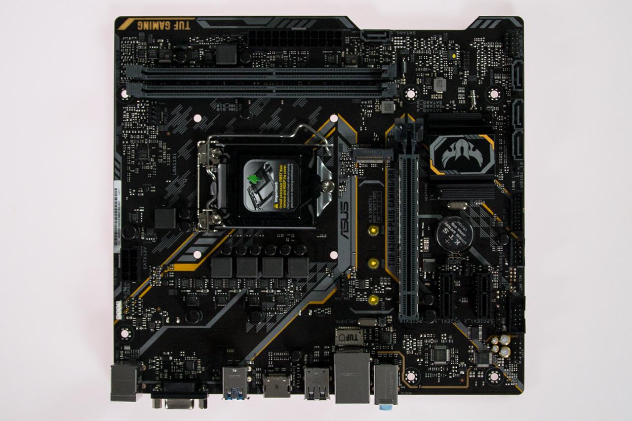 Visual geral ASUS TUF H310M BR