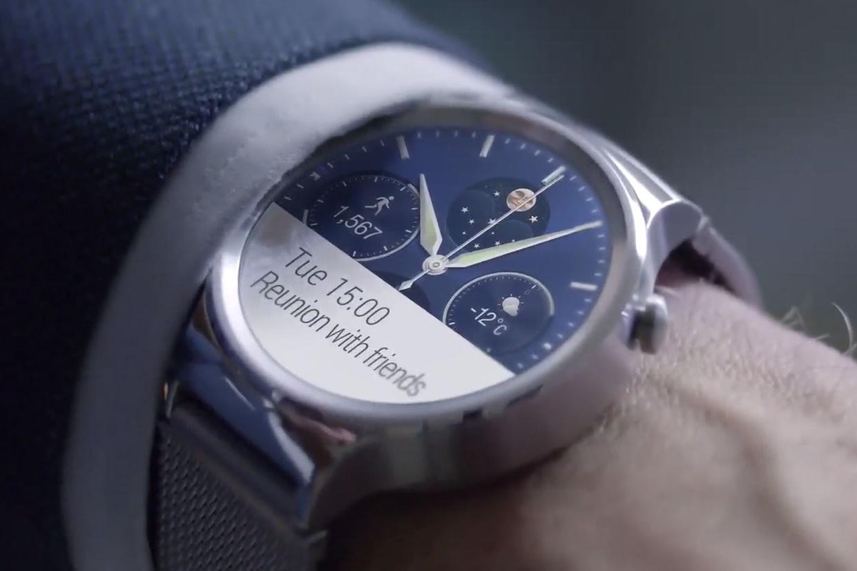 """Imagem de Patente: smartwatch da Huawei serviria como """"case"""" para fones Bluetooth no tecmundo"""