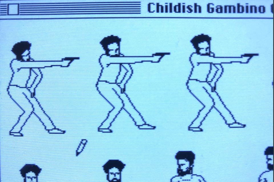 """Imagem de Animador recria """"This is America"""" em computadores da Apple dos anos 80 no tecmundo"""