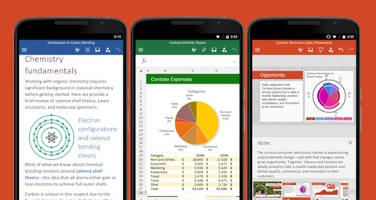 Imagem de Apps do Office para Android e iOS ganham novidades em atualização de julho no tecmundo
