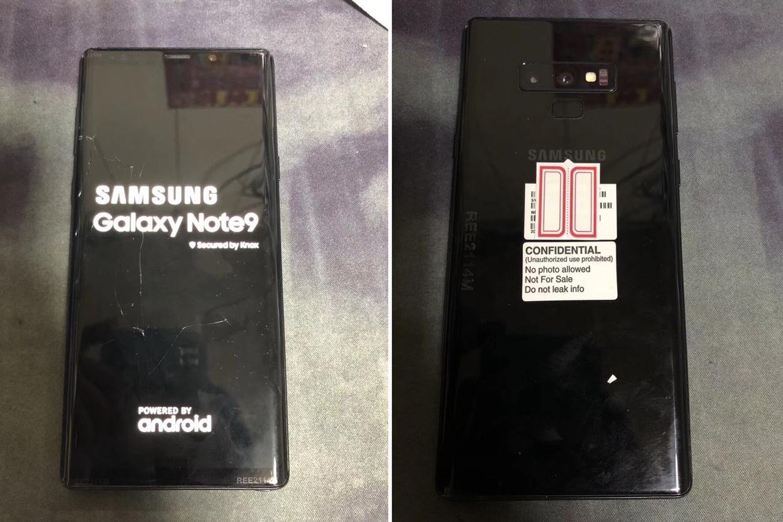 Imagem de Fotos reais de possível Galaxy Note 9 vazam na web no tecmundo