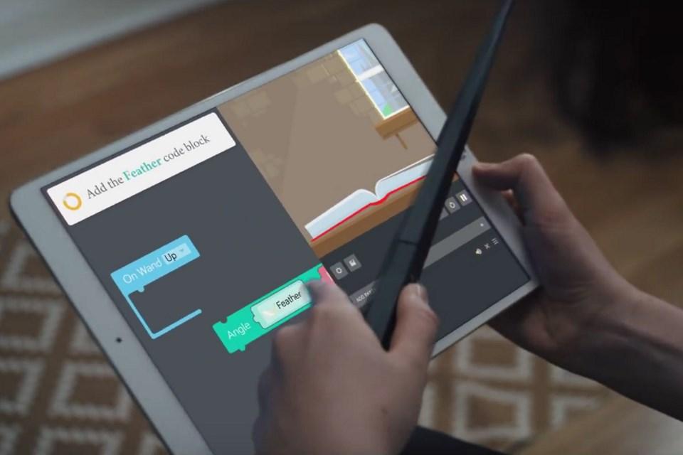 Imagem de Kit da Kano usa varinha mágica de Harry Potter para ensinar programação no tecmundo