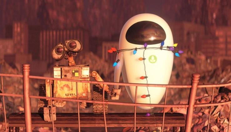 Dois robôs.