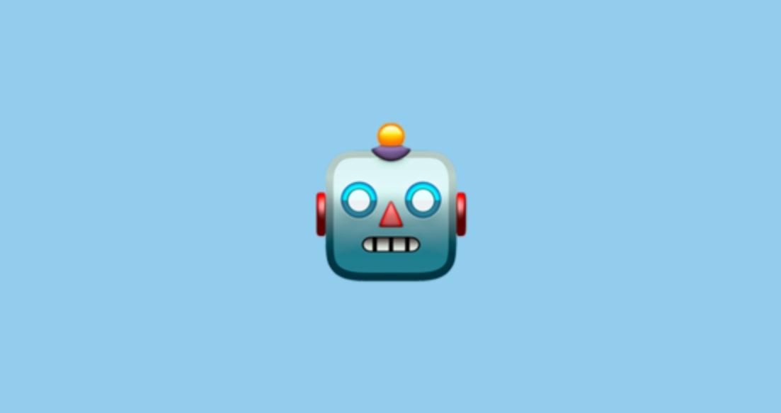 Um emoji.