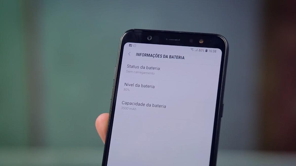 Samsung Galaxy A6+ análise
