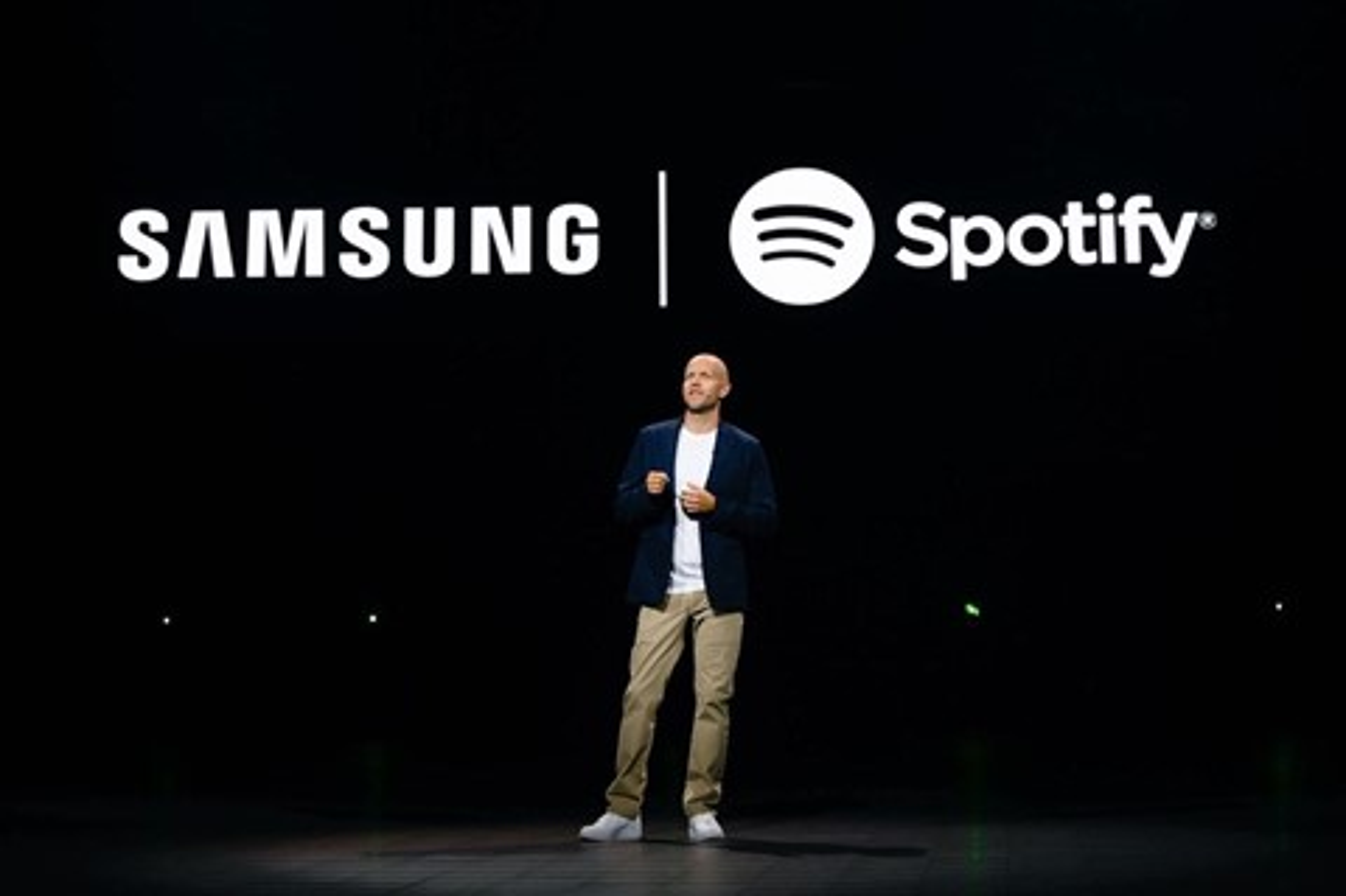 Imagem de Spotify e Samsung entram em parceria para combater Apple Music no tecmundo
