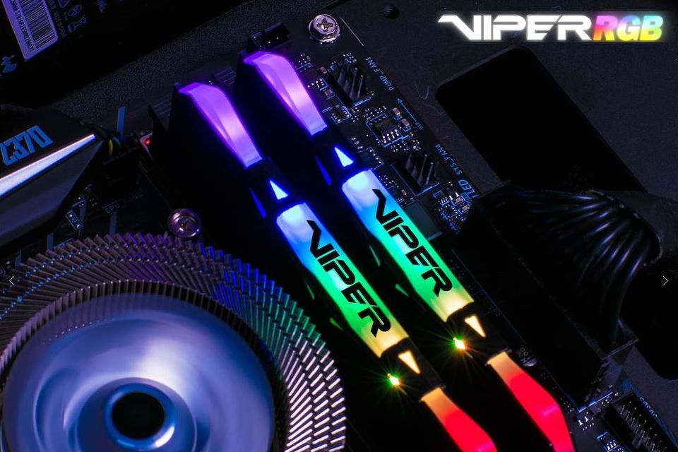Imagem de Novas memórias Viper DDR4 RGB, da Patriot, estão a caminho do Brasil no tecmundo