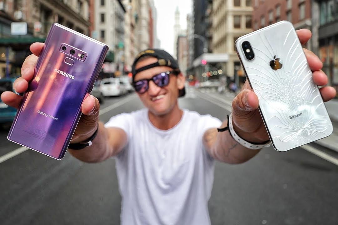 Imagem de Note 9 vs iPhone X: vídeo compara filmagens feitas com cada dispositivo no tecmundo