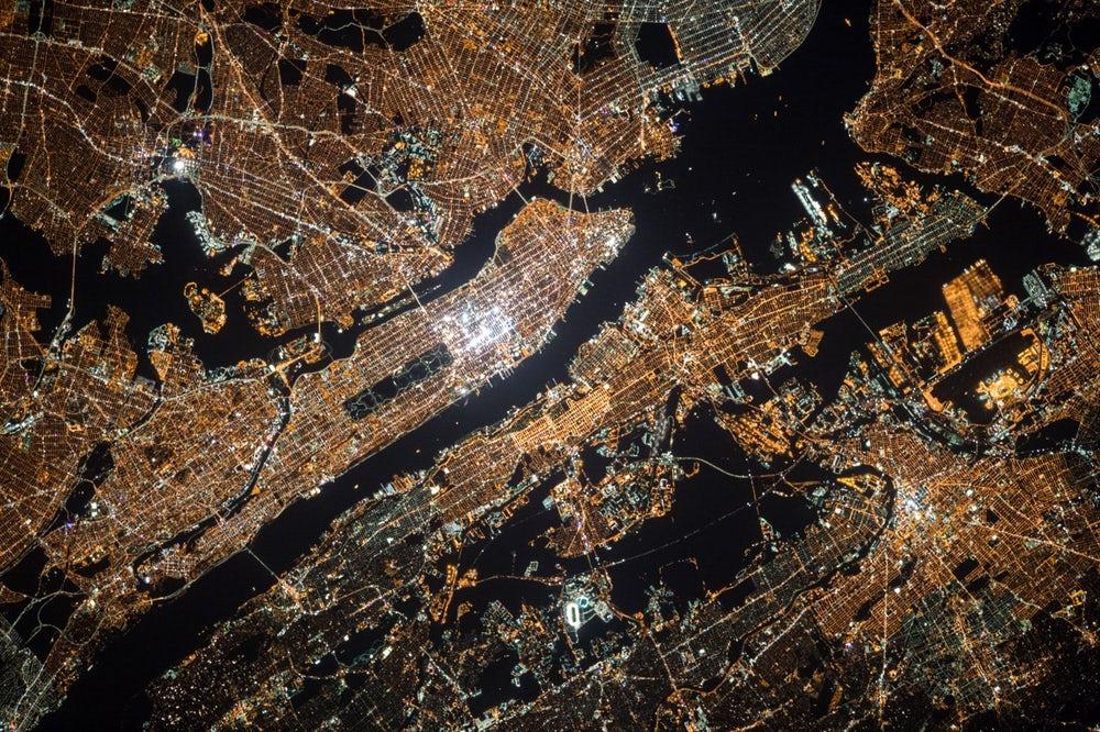 Nova York do céu
