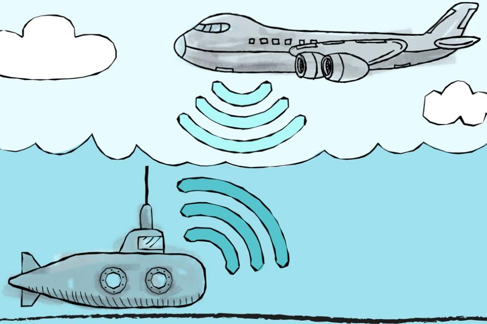 Imagem de MIT desenvolve meio de comunicação entre submarinos e aviões no tecmundo