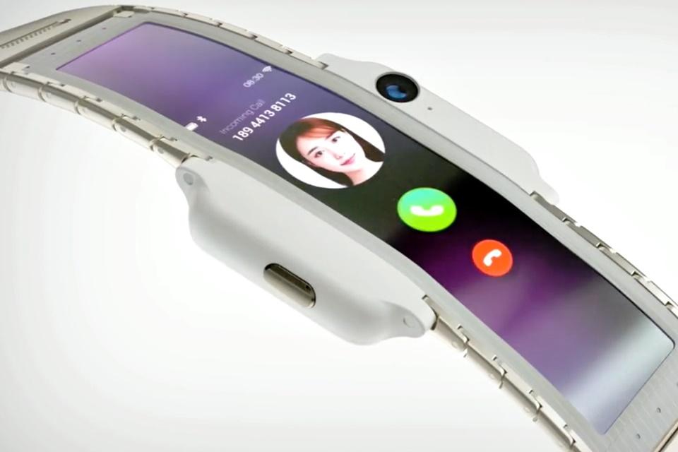 Imagem de Conheça o Nubia-a, misto de celular e smartwatch com tela flexível no tecmundo