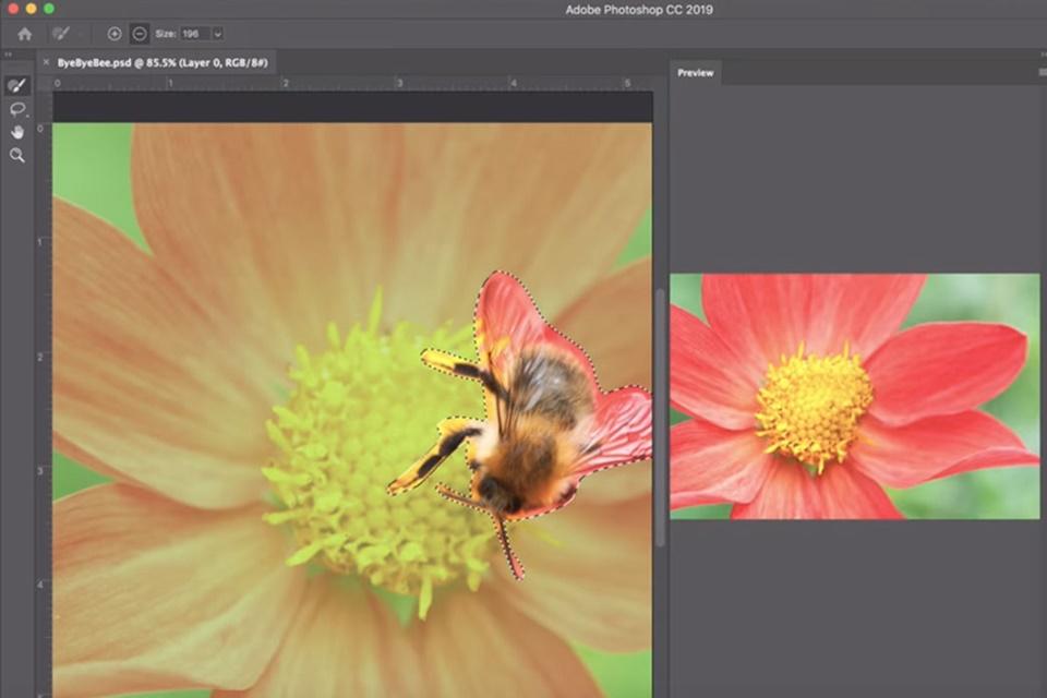 Imagem de Photoshop exibe novas habilidades de sua ferramenta de preenchimento no tecmundo