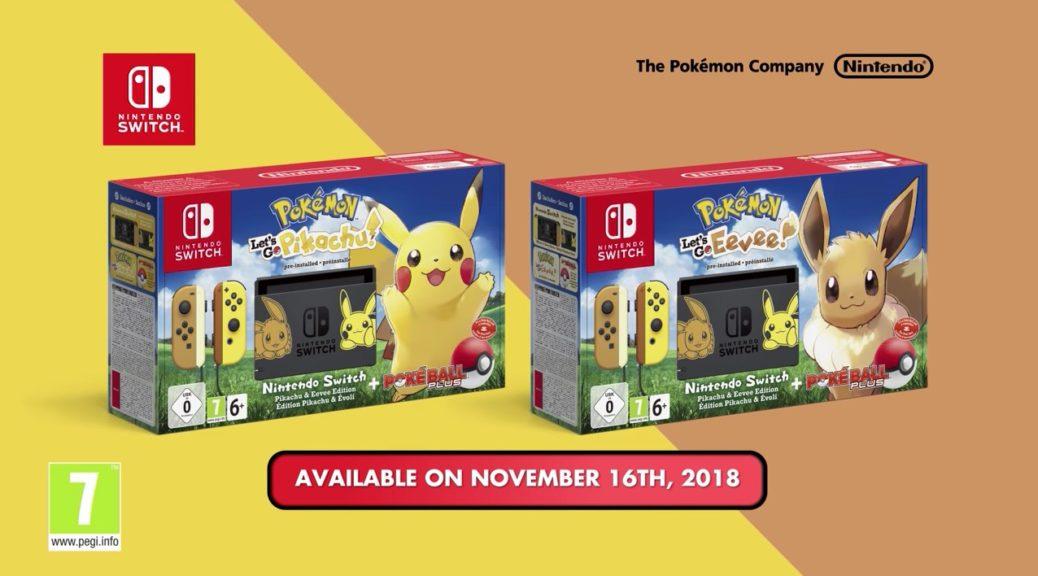Switch Especial Pokemon