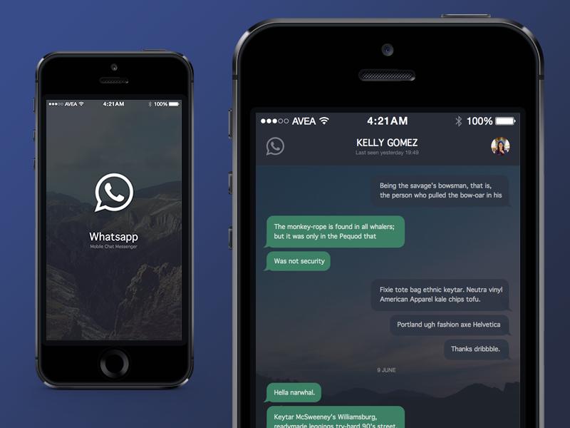 """Tem Na Web - Interface do WhatsApp deve ganhar """"Modo Noturno"""" em breve"""