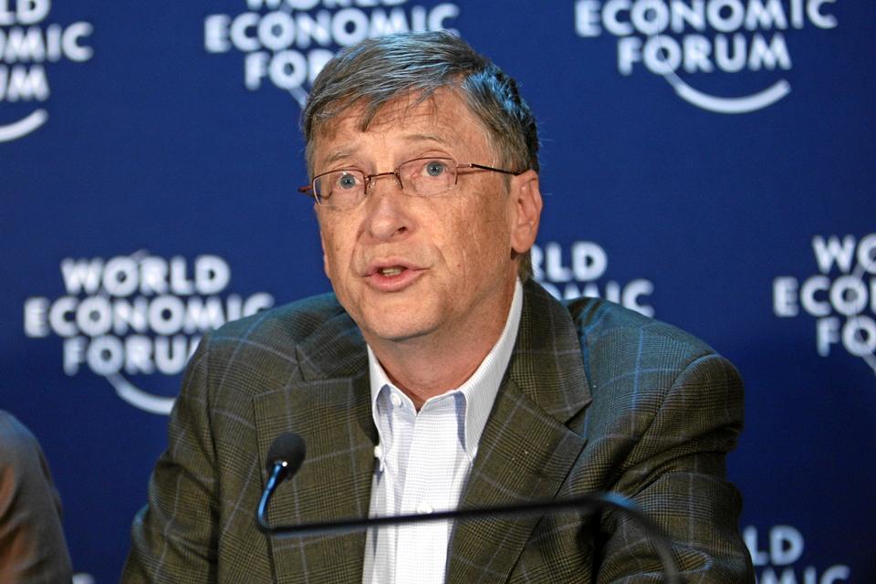 Imagem de Bill Gates revela suas preocupações em relação ao futuro do planeta no tecmundo