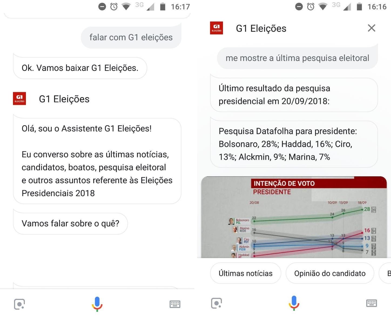 G1 nas Eleições