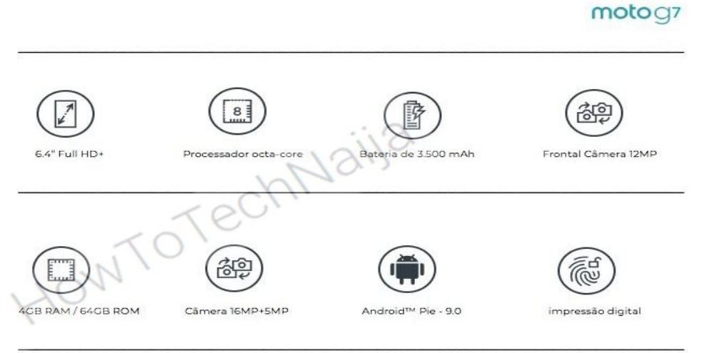 Moto G7 vaza com Android 9 0 Pie, câmera dupla e mais - TecMundo