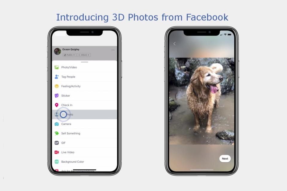 Imagem de Facebook libera postagens de fotos em 3D no Feed no tecmundo