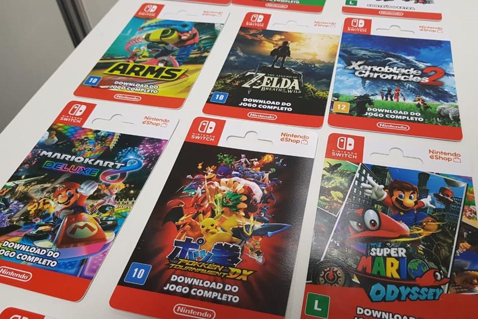 Imagem de Nintendo começa a vender cartões com jogos e serviço online no Brasil no tecmundo