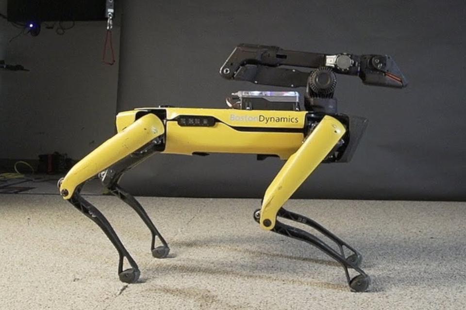Imagem de Robô SpotMini da Boston Dynamics agora é capaz de dançar; veja o vídeo no tecmundo