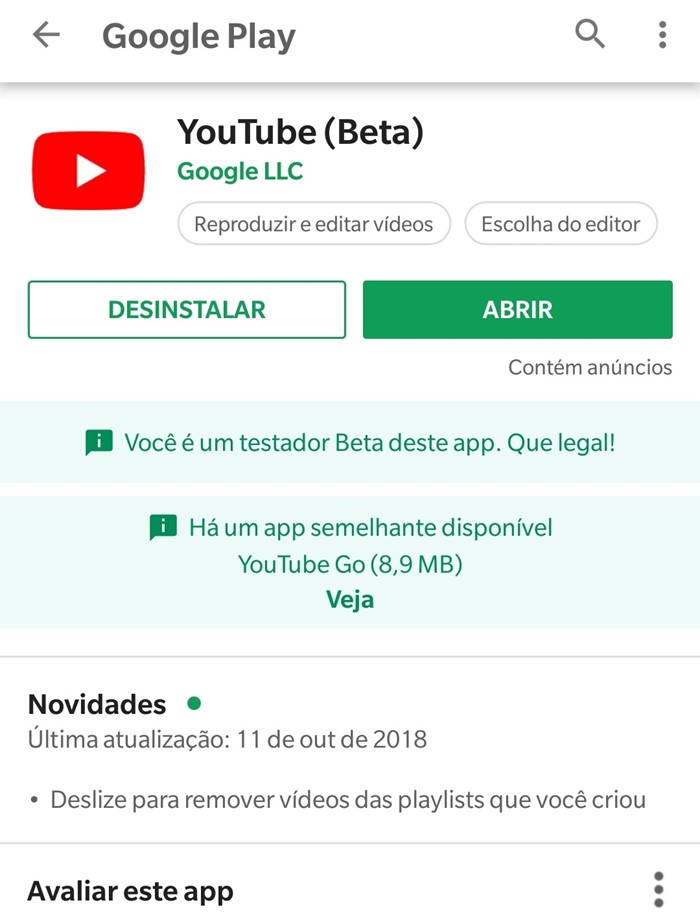 youtube beta