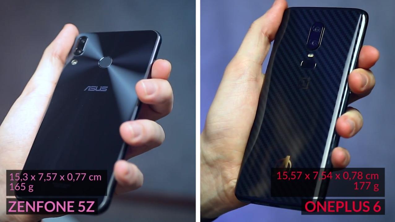 ASUS Zenfone 5z vs OnePlus 6