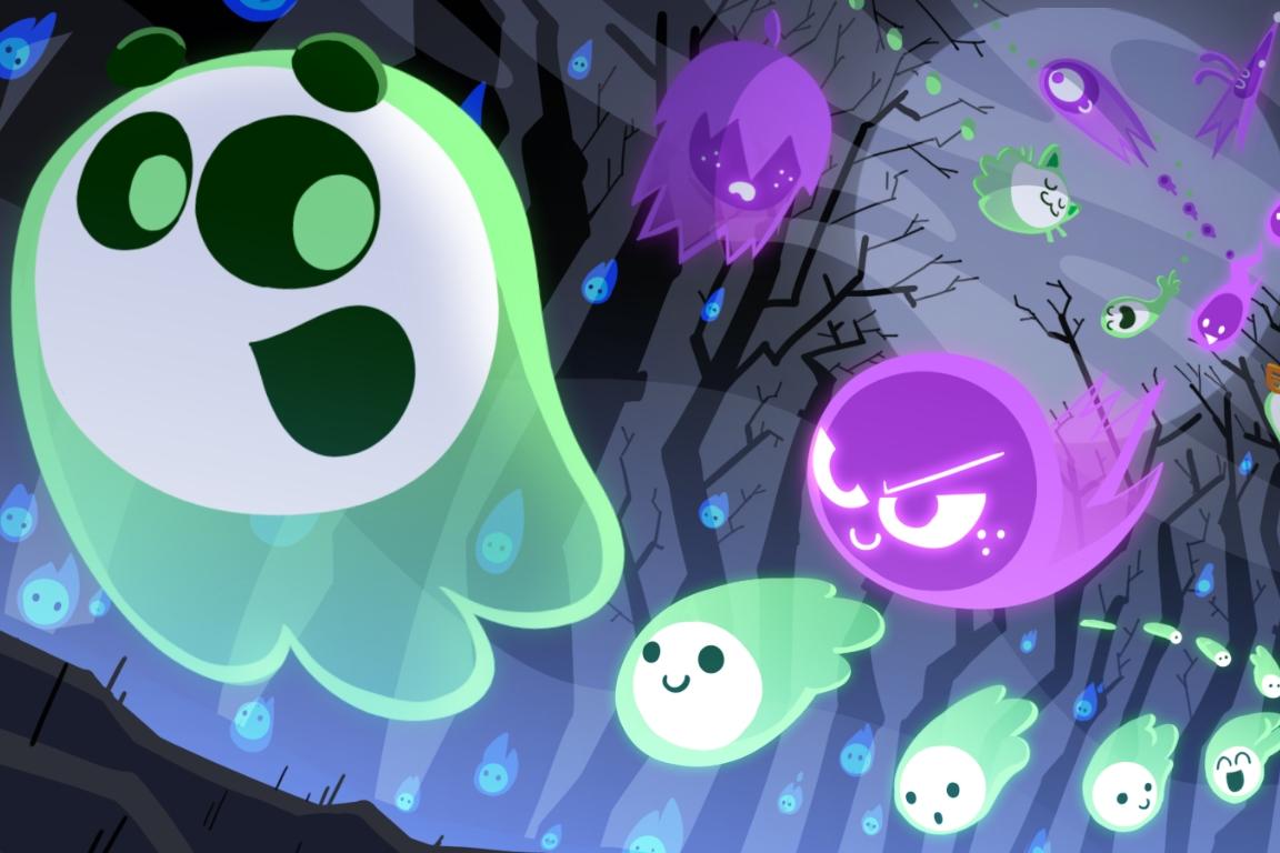 Imagem de Doodle do Google em homenagem ao Halloween é um divertido jogo multiplayer  no tecmundo