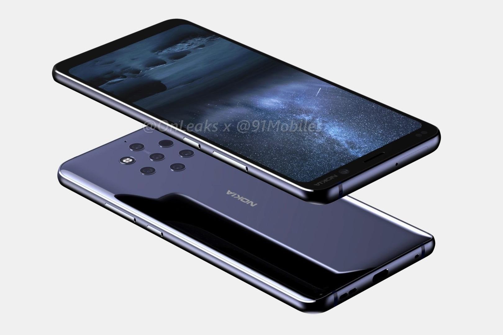 Imagem de Vazam imagens em alta resolução do Nokia 9; lançamento para janeiro no tecmundo