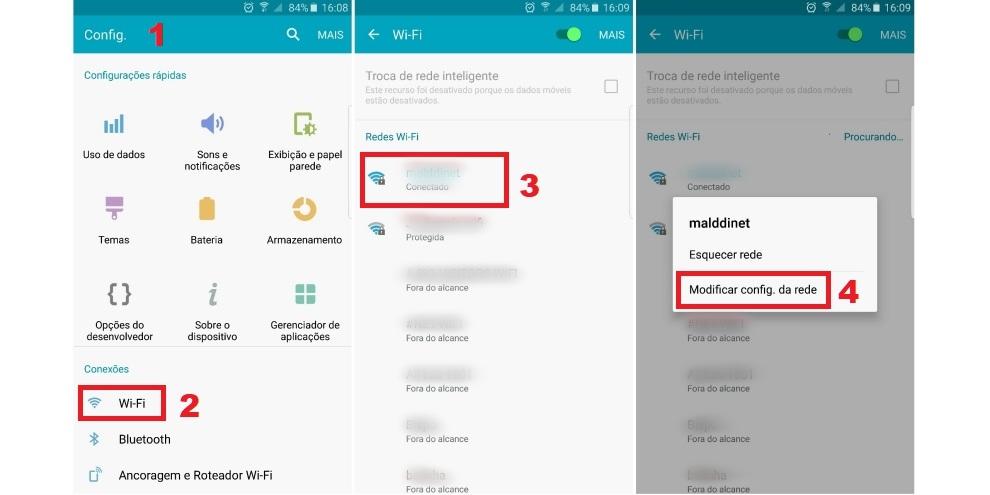 Como trocar o DNS em dispositivos Android e iOS (iPhone e iPad) 3