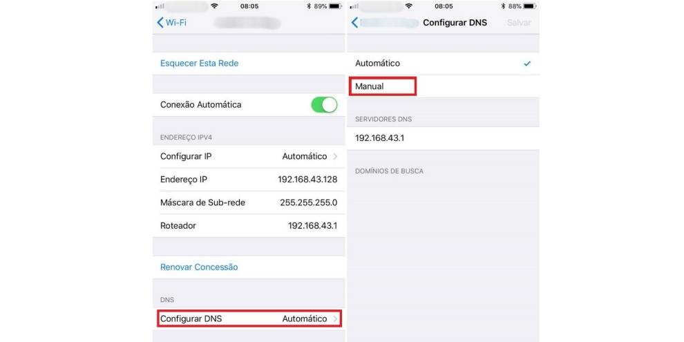 Como trocar o DNS em dispositivos Android e iOS (iPhone e iPad) 6