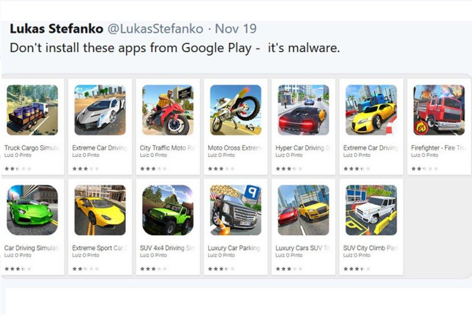 Virou passeio: Google remove 13 apps com vírus da Play Store 2