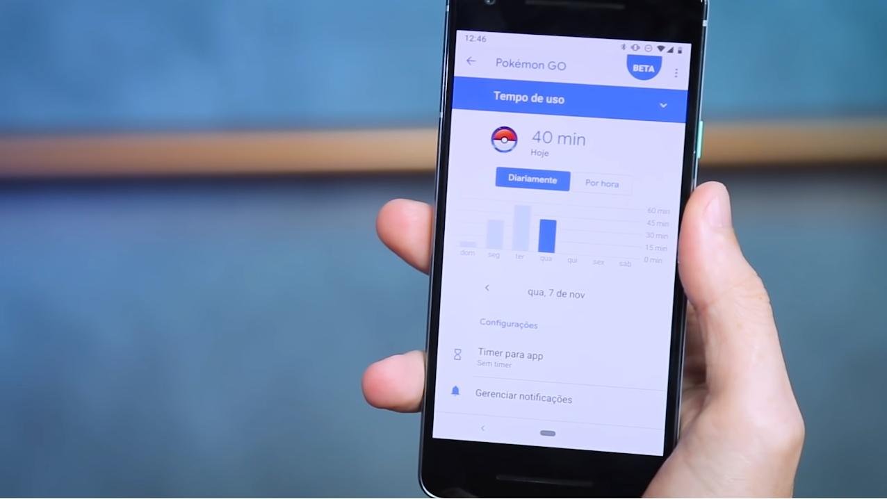 Bem-estar Digital Android Pie