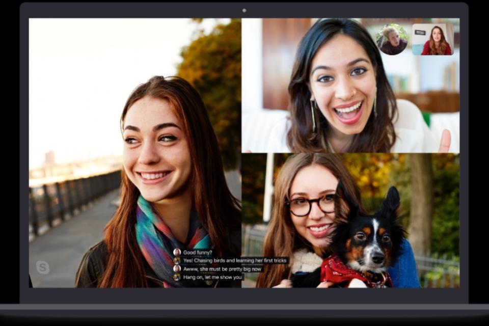 Imagem de Skype utiliza inteligência artificial para mostrar legendas nas chamadas no tecmundo