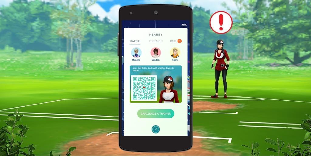 Pokemon GO PvP batalha