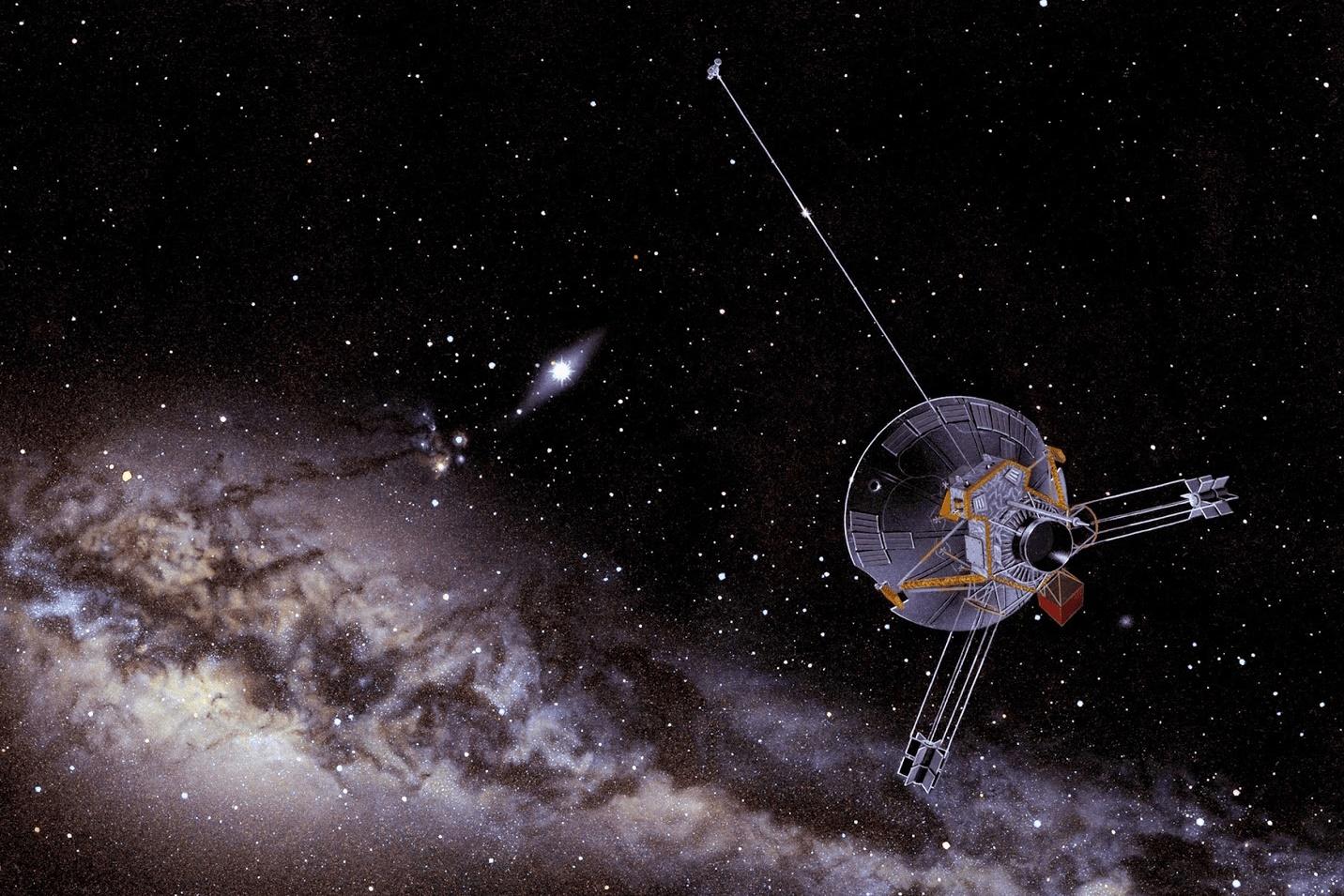 """Imagem de Voyager 2 é o segundo """"objeto humano"""" a entrar no espaço interestelar no tecmundo"""