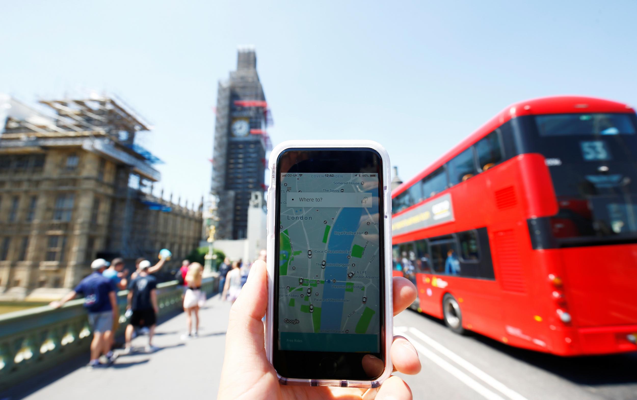 Imagem de Uber deve usar dados do sistema de transporte de Londres em app no tecmundo