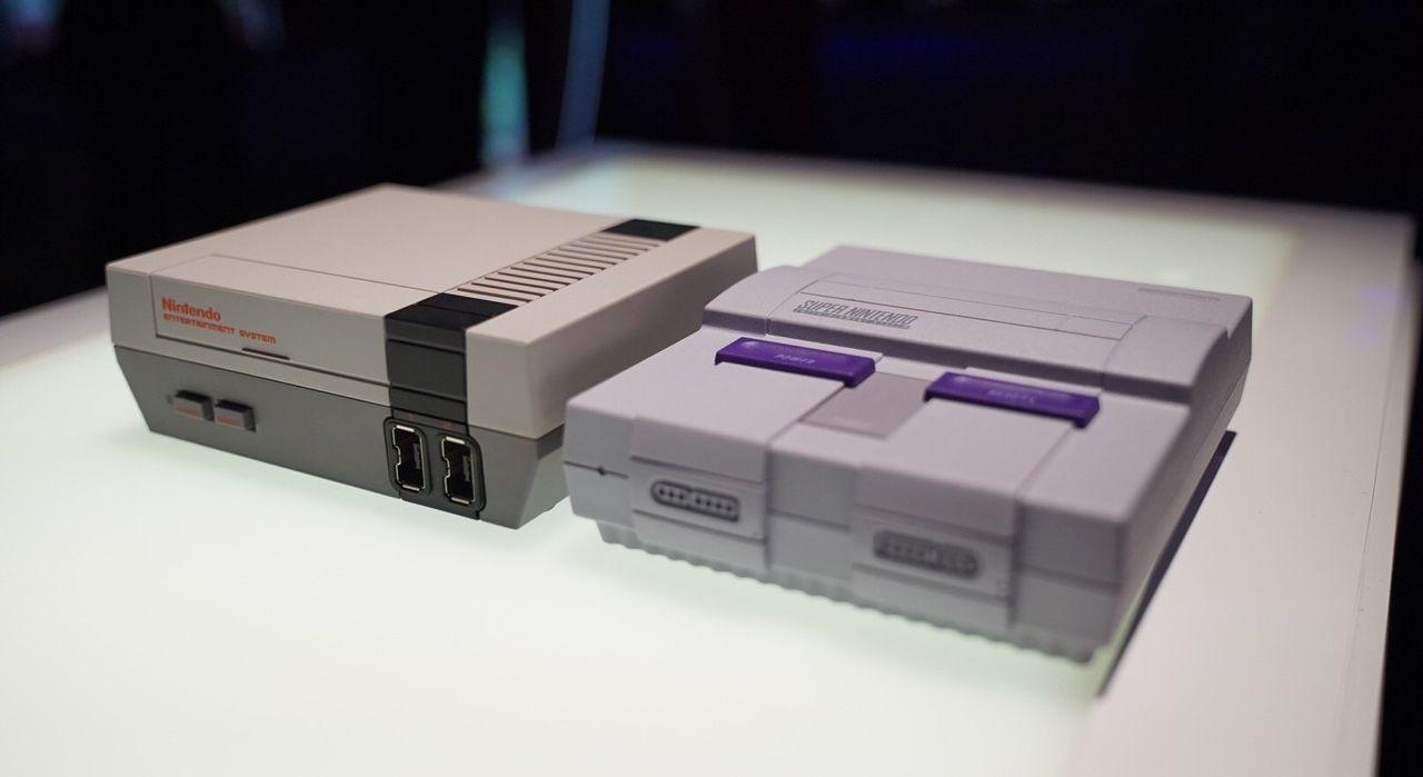 NES e SNES Classic