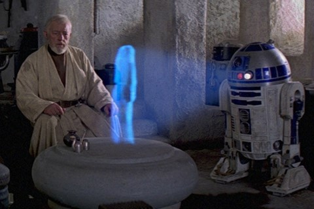 Imagem de Patente da Samsung prevê celular com tela holográfica ao estilo Star Wars no tecmundo