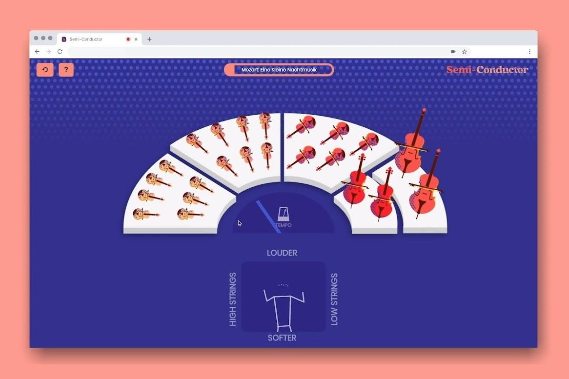 Imagem de Novo experimento de IA da Google deixa você comandar uma orquestra virtual no tecmundo