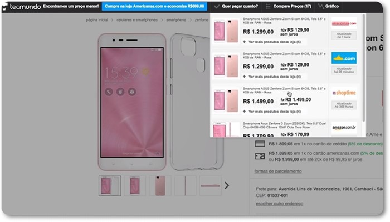 dica smartphone comprar