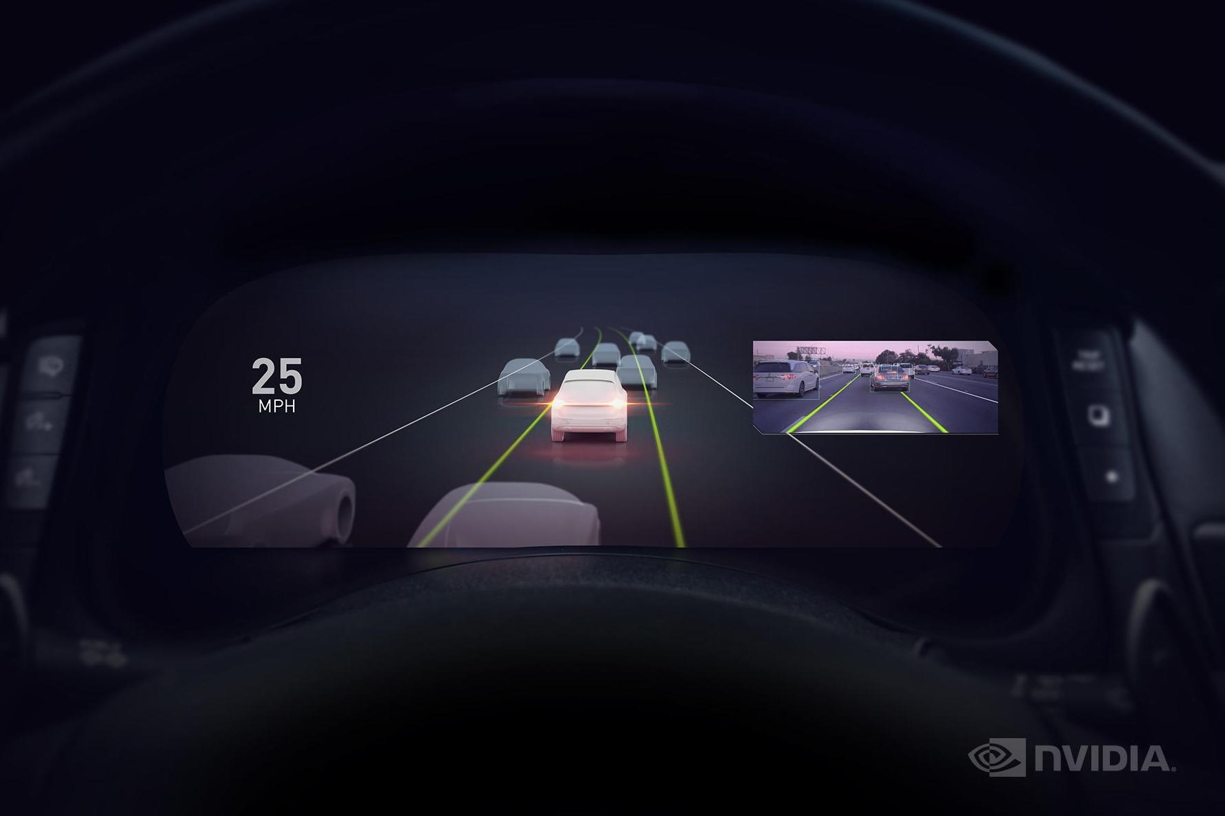 Imagem de NVIDIA apresenta o seu sistema próprio para carros autônomos no tecmundo