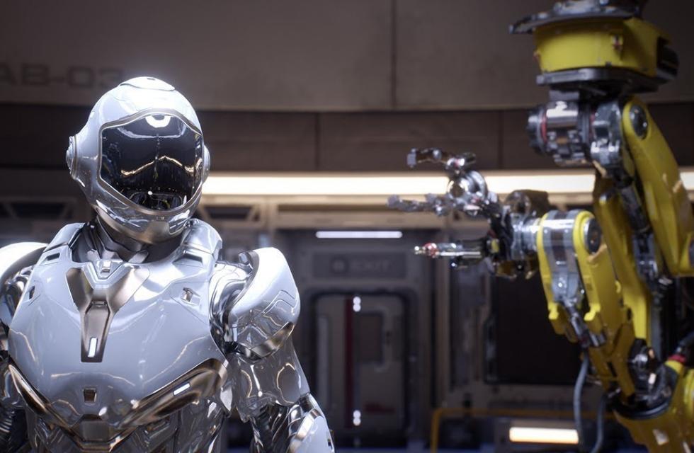 Imagem de NVIDIA mostra os gráficos dos jogos do futuro no tecmundo