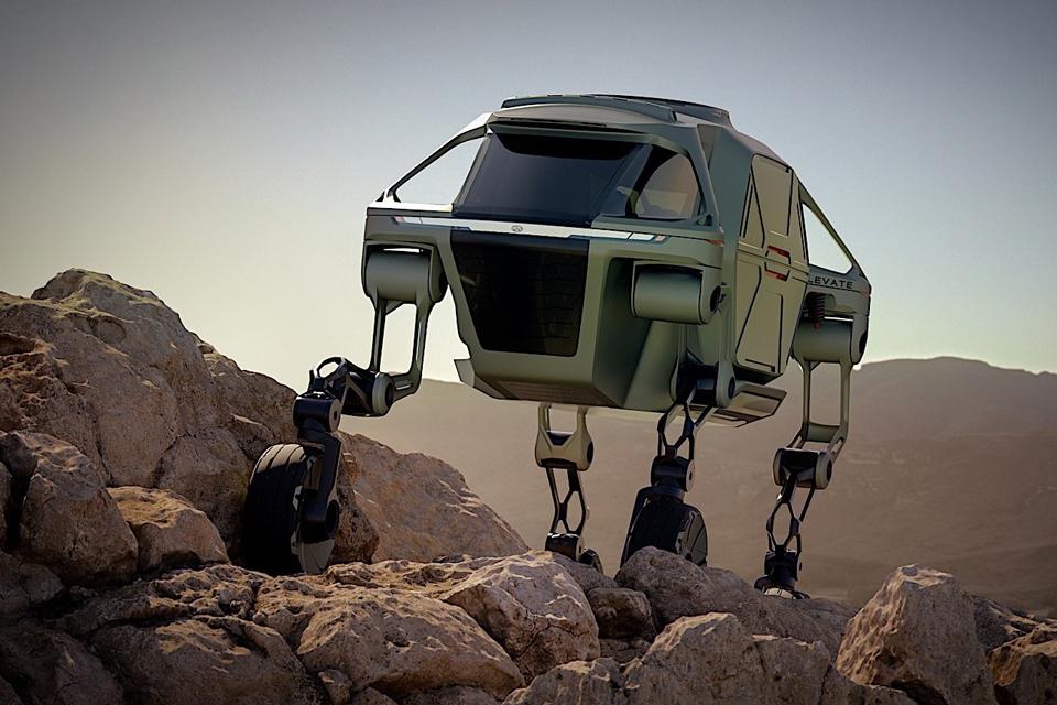 Imagem de Projeto de carro articulado da Hyundai permite enfrentar qualquer terreno no tecmundo