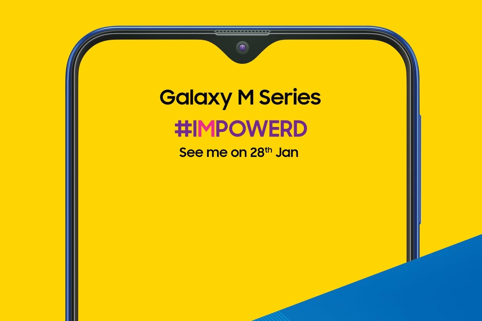 Imagem de Samsung confirma visual e data do Galaxy M, primeiro da marca com entalhe no tecmundo
