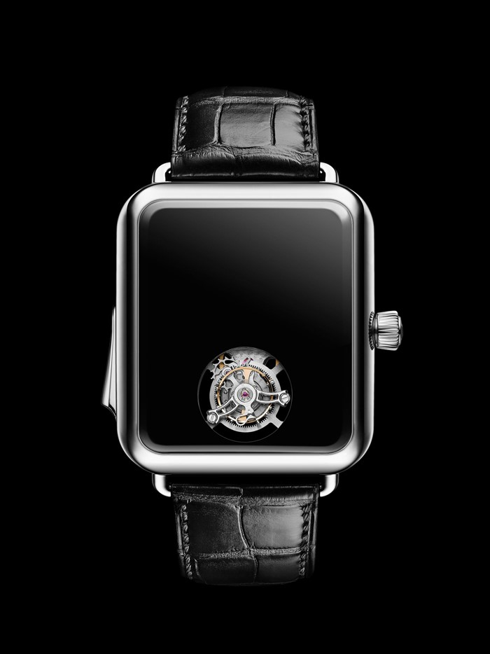 Swiss Alp Watch Concept Black