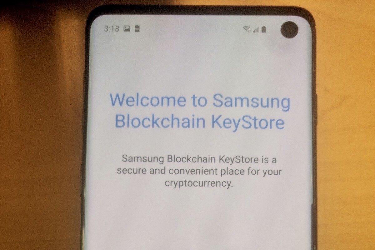 Imagem de Galaxy S10 terá carteira digital blockchain, mostra foto vazada no tecmundo