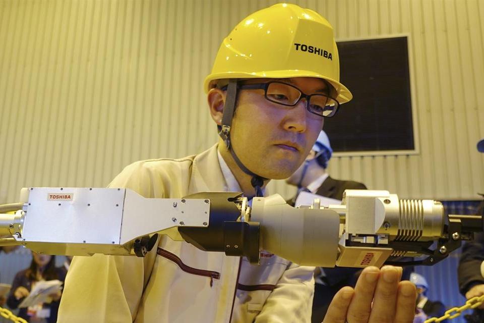 Imagem de Toshiba cria robô capaz de explorar reator da usina nuclear de Fukushima no tecmundo